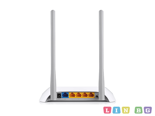 TP-LINK TL-WR840N 300Mbps Wireless N Router Безжичен рутер v ver2 0