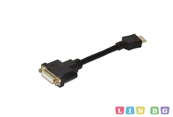 Кабел DVI HDMI 0 2m cable