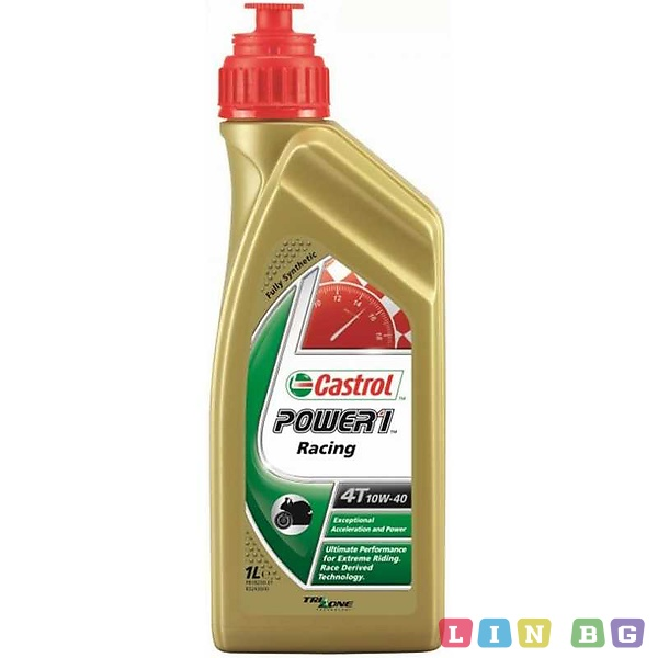 CASTROL POWER 1 RACING 4T 10W-40 1L Синтетично масло