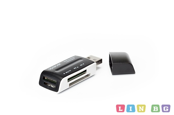 Spacer SPCR-658 46-in-1 Card reader Четец на карти