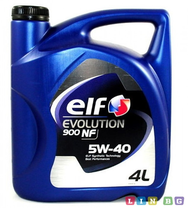 Elf Evolution 900 NF 5W40 4л Моторно масло