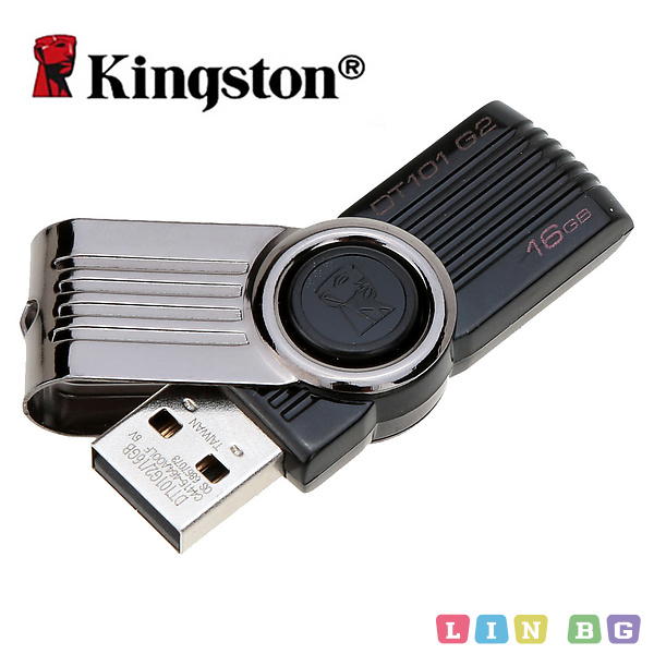 KINGSTON USB флаш памет 16GB DT101G216GB flash