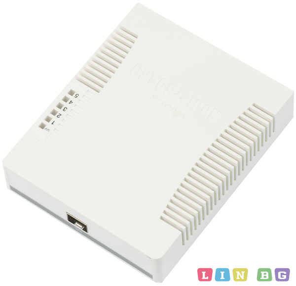 MikroTik RouterBOARD 260GS 5-port Gigabit smart switch Суич