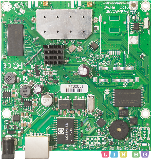 MikroTik RouterBOARD RB911G 5HPnD QRT Бизнес рутер