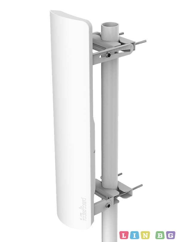 MikroTik mANT 19s 5GHz 120 degree 19dBi 2X2 MIMO Dual Polarization Sector Antenna, 2xRP-SMA connectors Антени