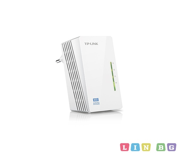 TP LINK TL WPA4220 N300 AV500 Wireless Powerline Extender адаптер
