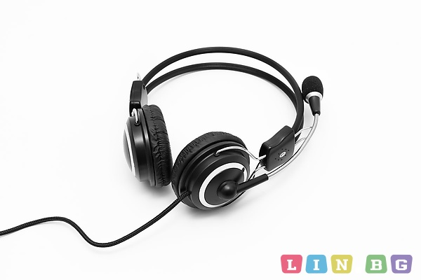 Spacer SPC-DJ001 Stereo Headset with microphone Слушалки с микрофон