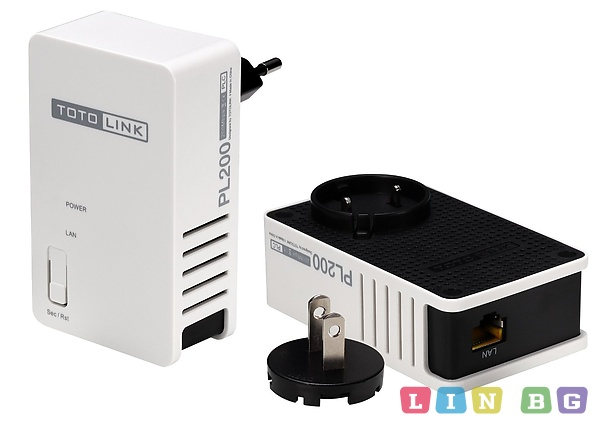 TOTOLINK PL200KIT Power line adapter