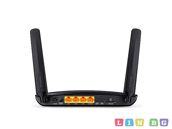 TP-Link TL-MR6400 300Mbps Wireless N 4G LTE Router Безжичен 4G рутер