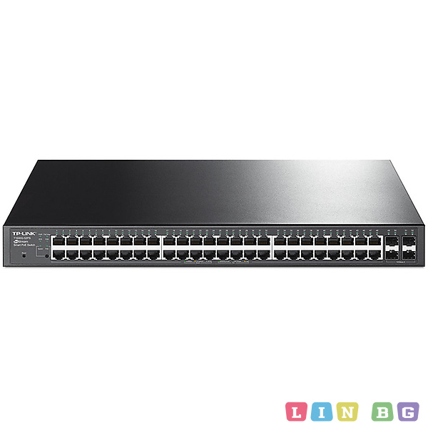 TP-LINK T1600G-52TS Gigabit Smart Switch Управляем суич